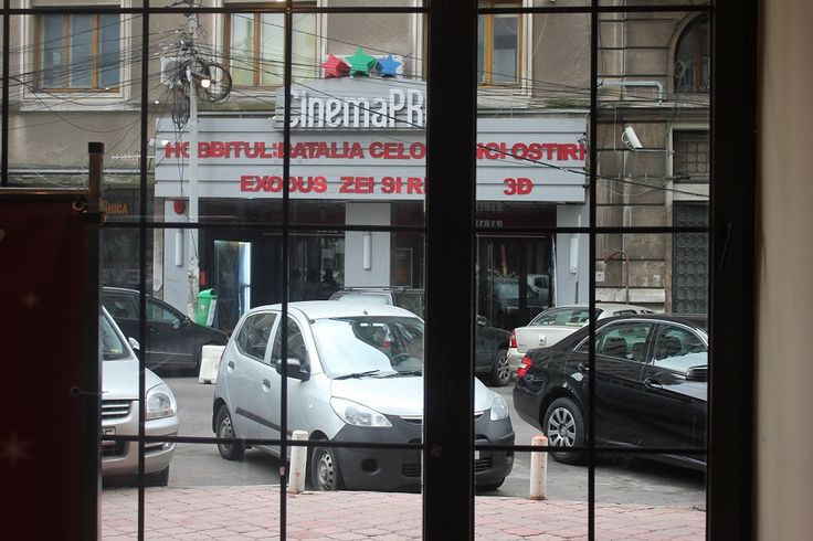 Vedere din interiorul Galeriilor Excelsior spre Cinema PRO