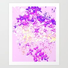 LILAC - Bright Art Print