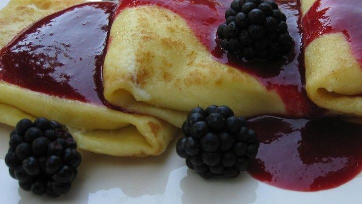 Chef John's cheese blintzes, filled with a lemon ricotta-cream cheese mixture, are perfect for a special brunch. Try them with a fresh berry sauce.