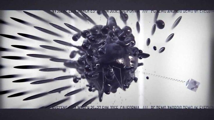 cncd & fairlight - nvscene 2014 invitation : the ink test