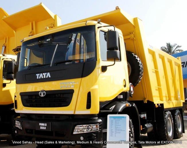 Tata Motors Prima LX and LPK ConsTruck vehicles at EXCON 2013 Read more at http://www.rushlane.com/tata-motors-prima-lx-lpk-construck-vehicles-1296818.html#ltPSfJ8XfyBiZ5jR.99
