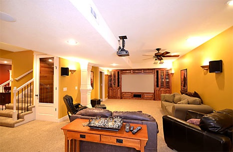 Charleston Harbor Real Estate - Theater Room