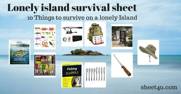 Die einsame Insel als Angelausflug