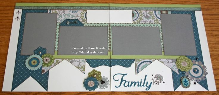 Scraptabulous Scrapbook Pages featuring the Avonlea kit from CTMH - love these colors and the coordinating stamp set that works with the Artiste Cricut Cartridge!!