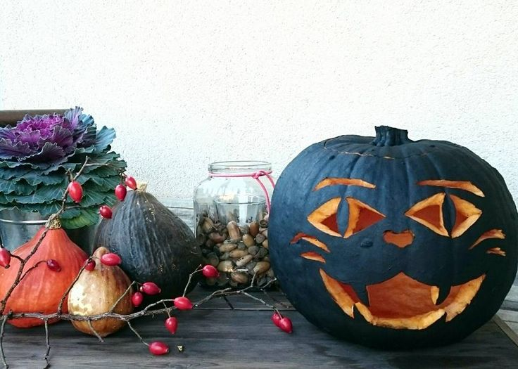 Ősz, cicatök....Halloween, pumpkin cat, kitty, diy....