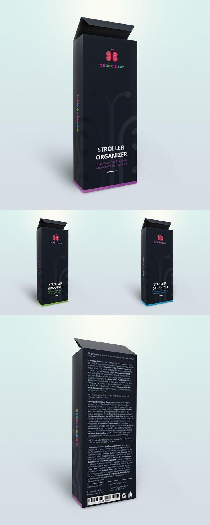 Stroller Organizer | Package Design by attilakamasz