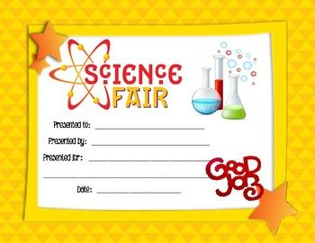 56 best awards borders certificates name plates images on pinterest secondary school for Science fair certificate