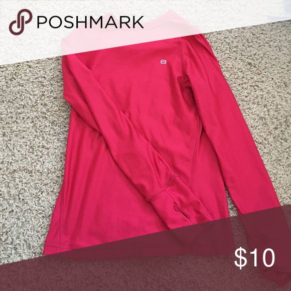 Layer 8 pink athletic performance top Polyester, soft inside Layer 8 Tops Tees - Long Sleeve