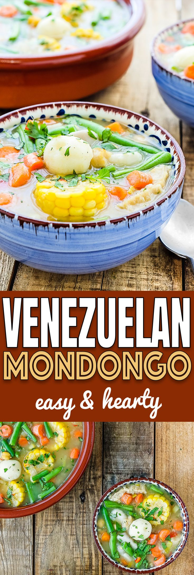 This Venezuelan Mondongo is easy to make and full of flavor. Made with beef tripe (panza), pork's feet (paticas de cochino) and lots of vegetables, this tripe stew will be a pleasant surprise for your palate. Be adventurous and give it a try! https://mommyshomecooking.comThis Venezuelan Mondongo is easy to make and full of flavor. Made with beef tripe (panza), pork's feet (paticas de cochino) and lots of vegetables, this tripe stew will be a pleasant surprise for your palate. Be adventurous…