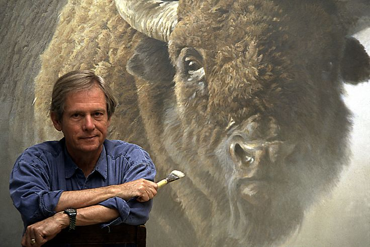 Robert Bateman, Fav of all time artist. I was able to take a small seminar from him back in the 1980's.