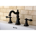 American Patriot Two-tone Oil Rubbed Bronze Bathroom Faucet - Jack and Jill 2