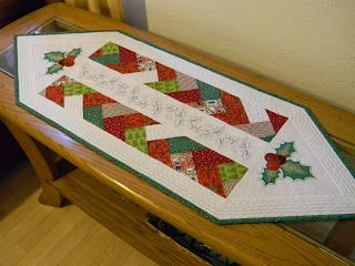 White Mountains: Рождественские Столовые дорожки.Завершение! Ура!