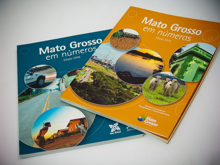 Mato Grosso in numbers, 2006 and 2010 - Seplan-MT • Product: Reports • Client: State Secretariat for Planning and Coordination General of the State of Mato Grosso • Publishing House: Central de Texto