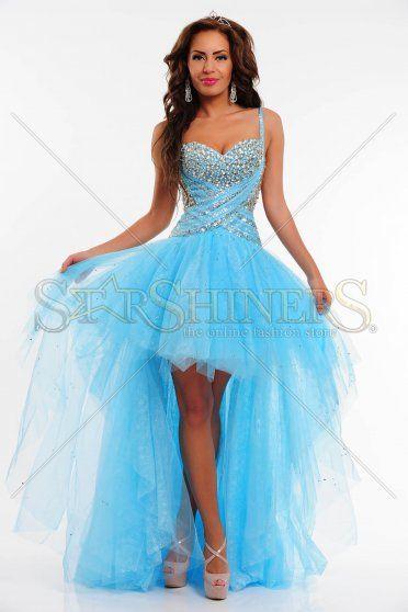 Rochie Sherri Hill 21168 Blue