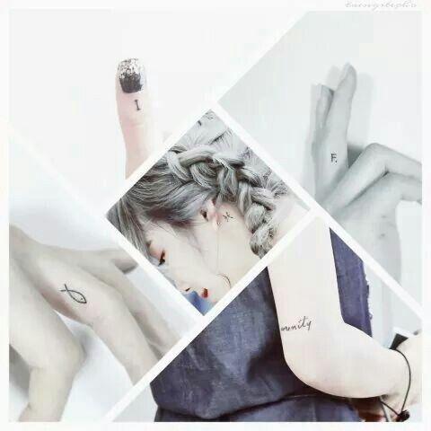 Tattoo Taeyeon