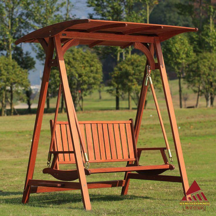 Principales 25 ideas incre bles sobre columpio de madera - Columpio madera jardin ...