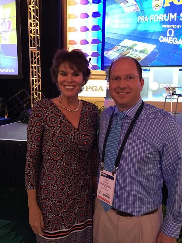Inspiring Greatness with Jennifer Mills, former Golf Channel host and Bright's Creek member.