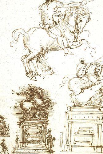 Studio per il monumento trivulzio - Leonardo - Opere d'Arte su Tela - Listino prodotti - Digitalpix - Canvas - Art - Artist - Painting