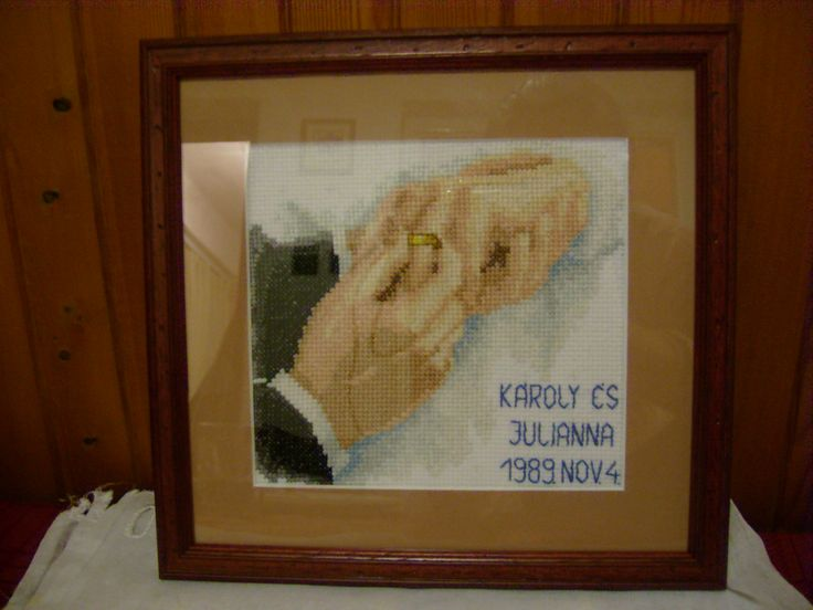 Gift for my Godparents' wedding anniversary in 2009 :)