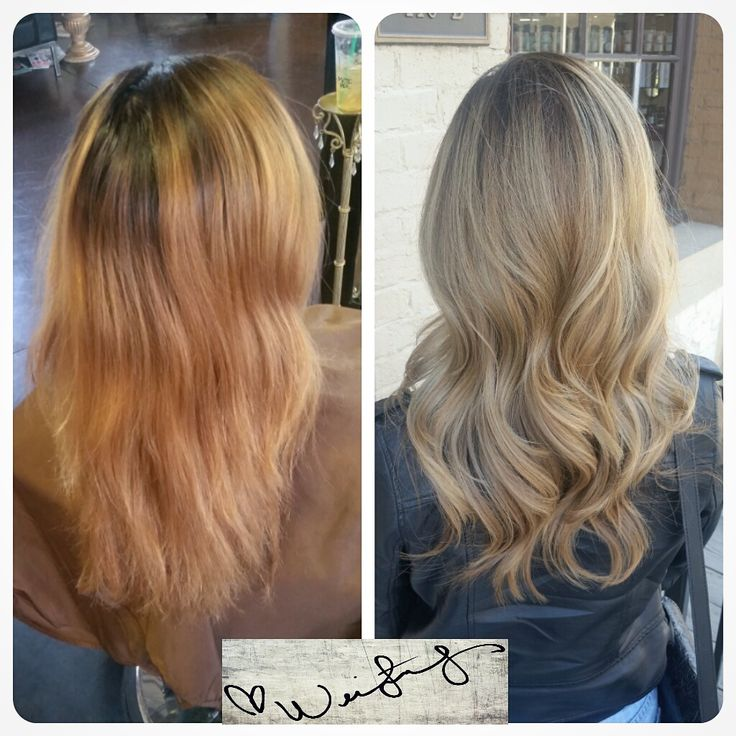 COLOR CORRECTION: A Mess to GORGEOUS Blonde Ash Sombre | Modern Salon