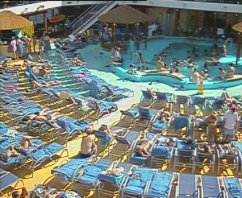 Carnival Breeze Main Pool Web Cam Live Crazy About