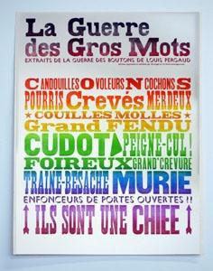 Resultado de imagen de les gros mots en français