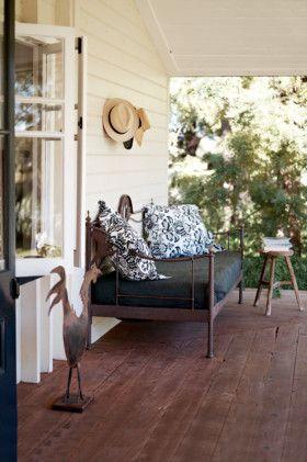 Verandah - a reading spot. Queensland, Australia