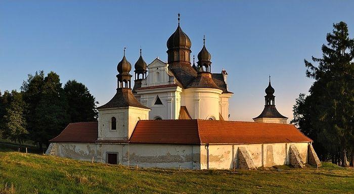 Poutní kostel Nejsvětější Trojice, Trhové Sviny