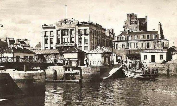 Chambre de Commerce ~ à l angle du Quai des Indes et de la rue du Commerce - Si Lorient m'était conté