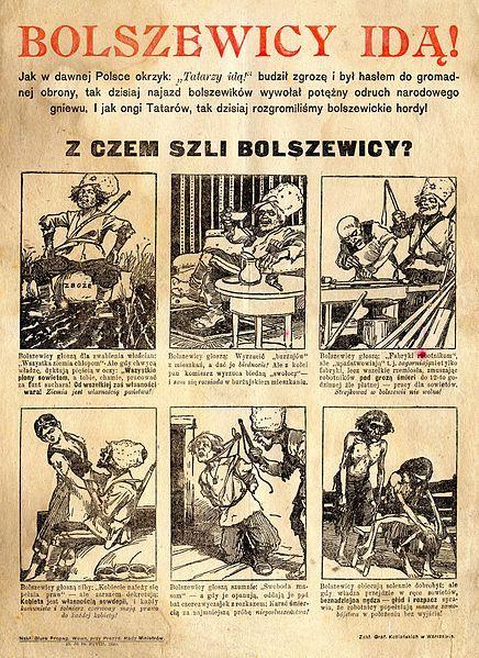 """Propaganda antybolszewicka (1919 - 1920) czyli """"bij bolszewika!""""   HISTORIA.org.pl - historia, kultura, muzea, matura, rekonstrukcje i recenzje historyczne"""