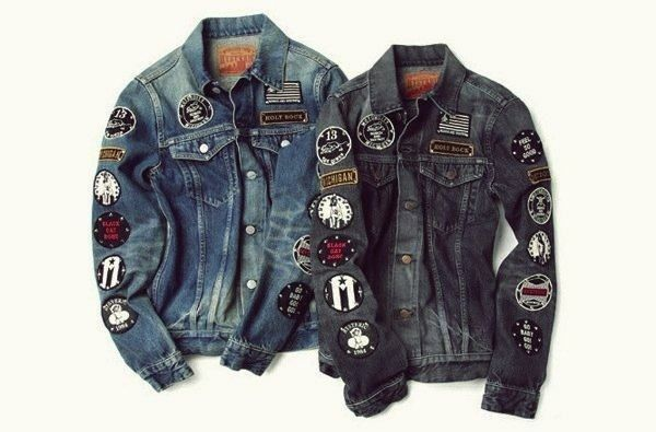 modelos de jaquetas jeans masculinas customizadas