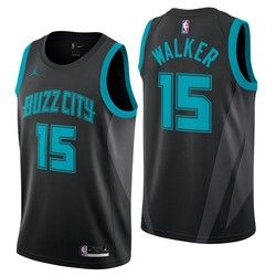 2a4066ad41da Charlotte Hornets Jordan City Edition Swingman Jersey - Kemba Walker - Mens