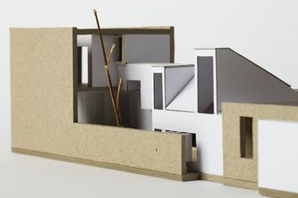 Architectural Model - South Terrace Alterations + Additions 2 Fremantle Philip Stejskal Architecture