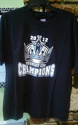 los angeles kings 2012 stanley cup champions large haines t shirt