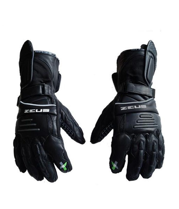 #stepinadventure !! Zeus Hawk Touring Gloves FEATURES: Full-grain leather main construction along with nylon encosures 5mm EVA knuckle protection Full-grain leather palm with Silicon Flex Grip Padded finger and wrist protection Velcro strapped wrist closure for a secure fit Attractive sport design on finger and palm Night Reflector strip on the front Air Ventilated pores on the fingers Water resistant coating on the leather, can be used in moderate rains. buy now :http://bit.ly/28Uuv8h