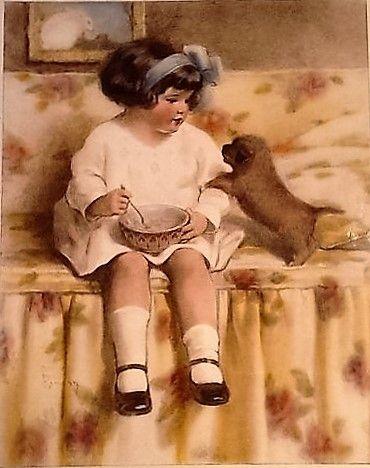 Watchful Waiting ~ Bessie Pease Gutmann