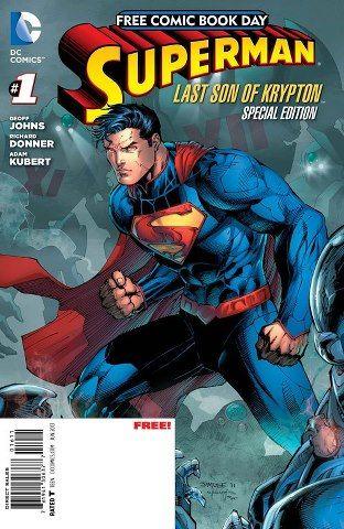 Superman EL Ultimo Hijo de Kripton Para El Free Comic Book Day 2013
