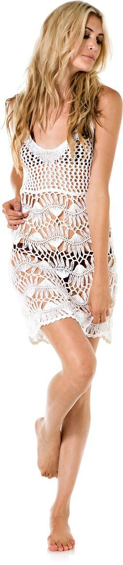 Look playero horquilla crochet