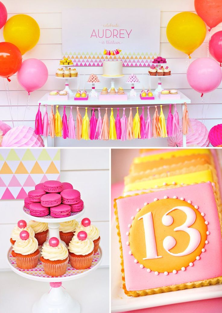 11 best 13th Birthday Party Ideas images on Pinterest Birthdays