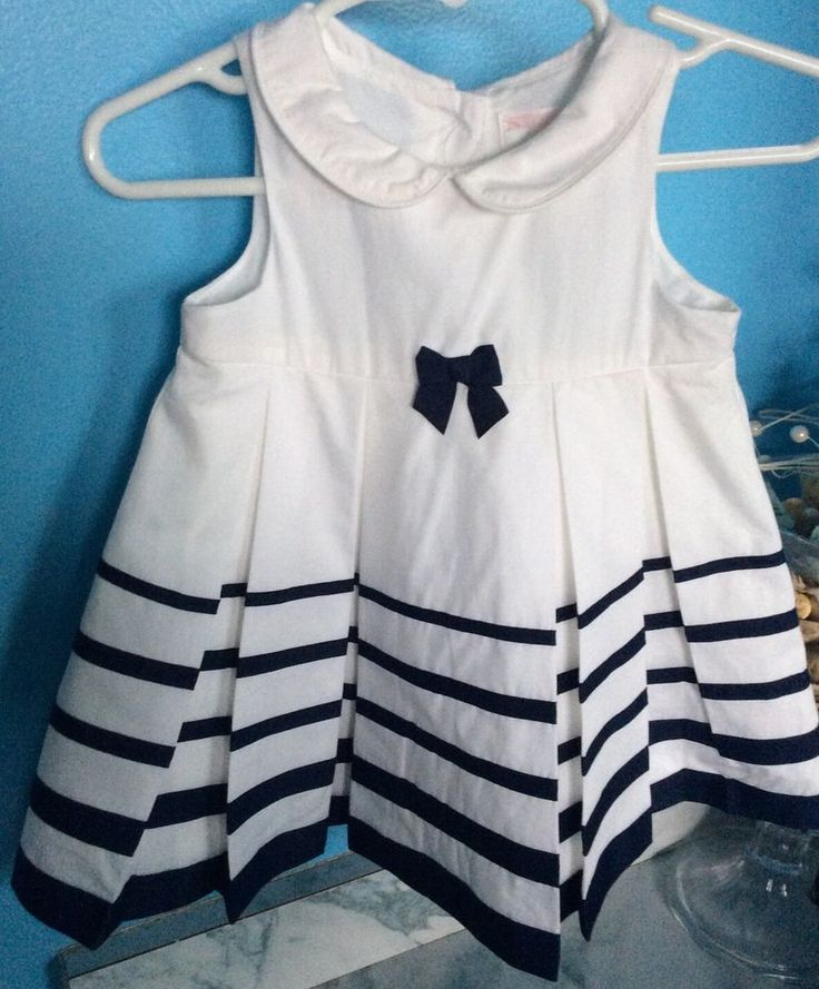 Janie And Jack Layette Dress Sweet Sailing Line Size 3-6 Months | Clothing, Shoes & Accessories, Baby & Toddler Clothing, Girls' Clothing (Newborn-5T) | eBay!