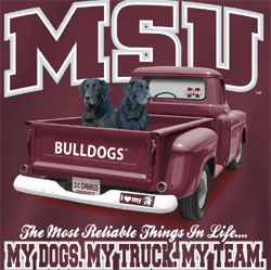 mississippi state football pictures   Mississippi State Bulldogs Football T-Shirts - My Dogs My Truck My ...