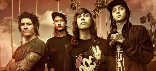 pierce the veil. UK tour with Crown The Empire this summer.