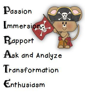 Math Coach's Corner: Come Aboard, Mateys, to Book Study Mondays!  Argh!  Are ye ready for another series of Book Study Mondays? Teach Like a Pirate by Dave Burgess will transform your classroom!