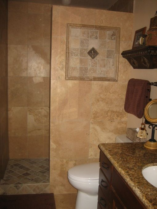 no more shower door to clean we pretty much gutted this small bathroom and. Interior Design Ideas. Home Design Ideas