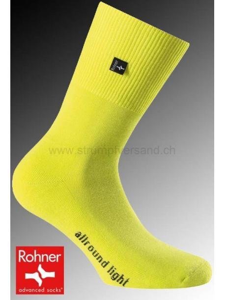 Rohner Socken ALLROUND LIGHT - 031 gelb