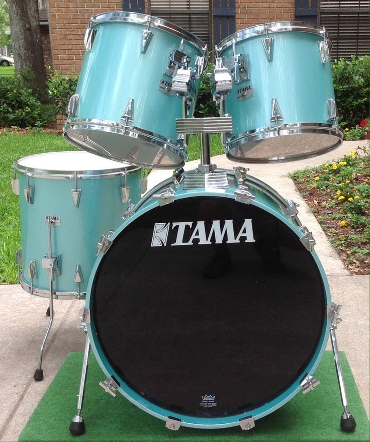 VINTAGE TAMA GRANSTAR BIRCH 4 PIECE DRUM SET! RARE!