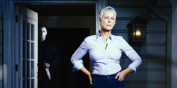 With production on the Halloween reboot-sequel officially underway, Jamie Lee Curtis has shared the first look at what Laurie Strode will look like in the upcoming horror film.