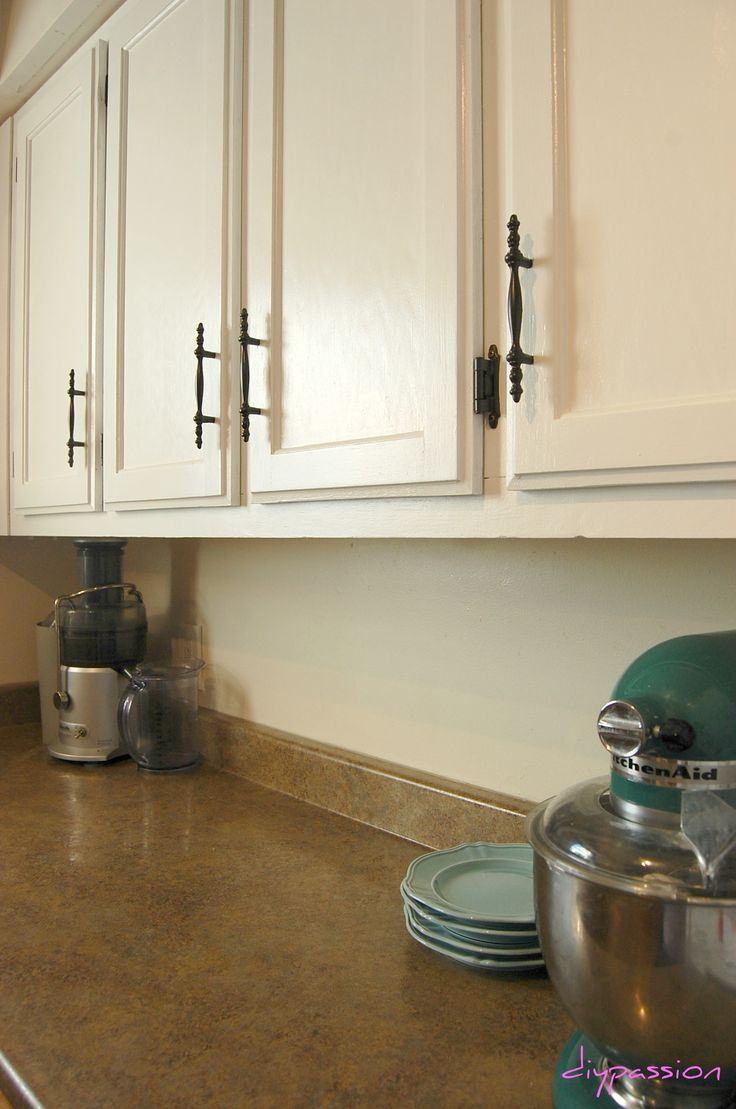 51 best cabinets images on pinterest home kitchen redo and tips tricks for painting kitchen cabinets via diypassion com