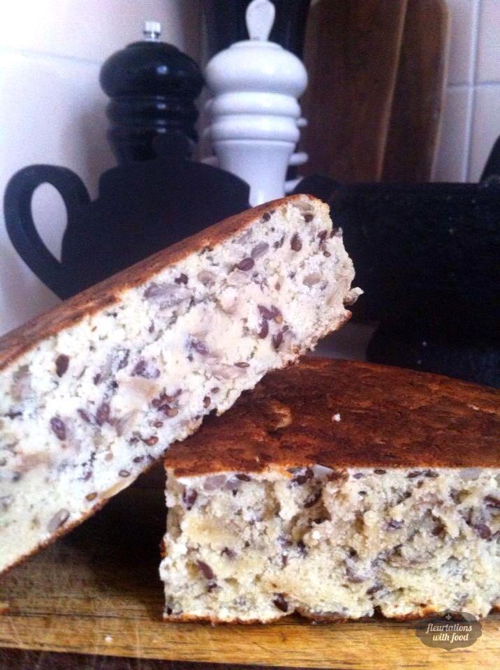 Gluten Free Flat Bread - Fleurtations with Food