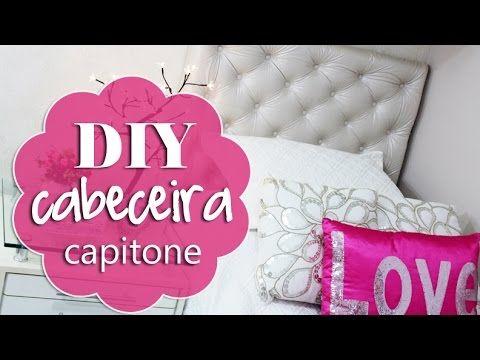 Casa Marceneiro : Como fazer cabeceira capitone estofada de cama box - passo a passo                                                                                                                                                                                 Mais